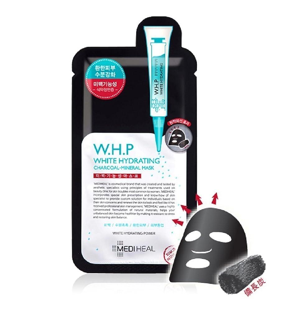 ミスそっと主張するメディヒール(Mediheal) W.H.P 美白水分 ミネラル 炭 マスクパック (10枚) [海外直送品][並行輸入品]