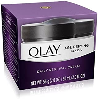 OLAY Age Defying Classic Daily Renewal Cream 2 oz (Pack of 4)