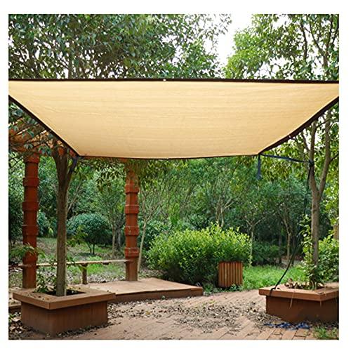 BAIYING HDPE Red De Sombra, con Ojal Guardia De Esquina Portátil Sombra Aislamiento Paño De Protección Solar por Jardín Patio (Color : Beige, Size : 4X8M)