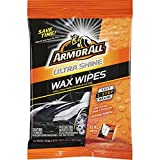 Armor All 18239-6PK 6 Pack Ultra Shine Wax (12 XL Wipes), 6 Pack