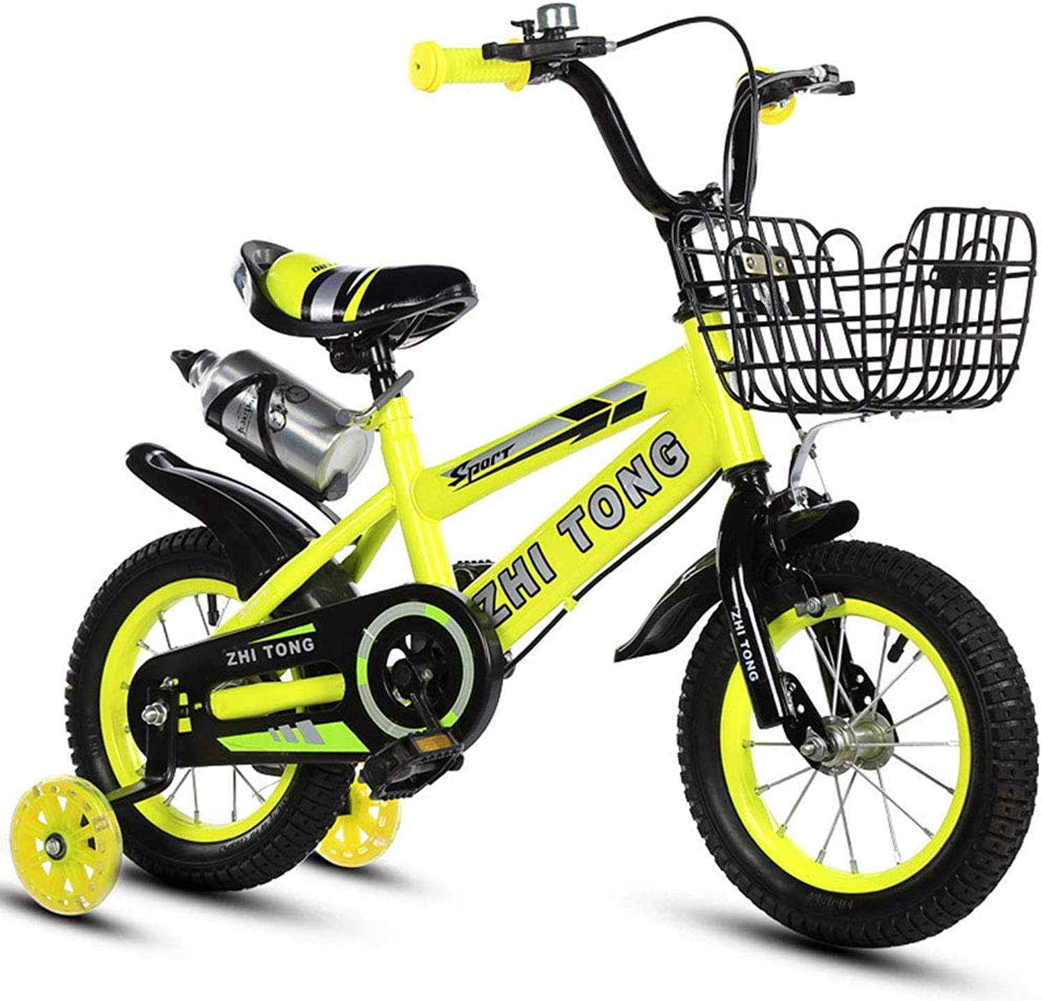 LHLCG Kids Kids Kids Bike 12 14 16 18 Inch Baby Bicycle with Auxiliary Wheel Ages 29 e1b734