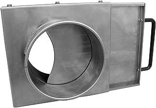 Nordfab Ducting 3240-0400-100000 QF Manual Blast Gate, 4