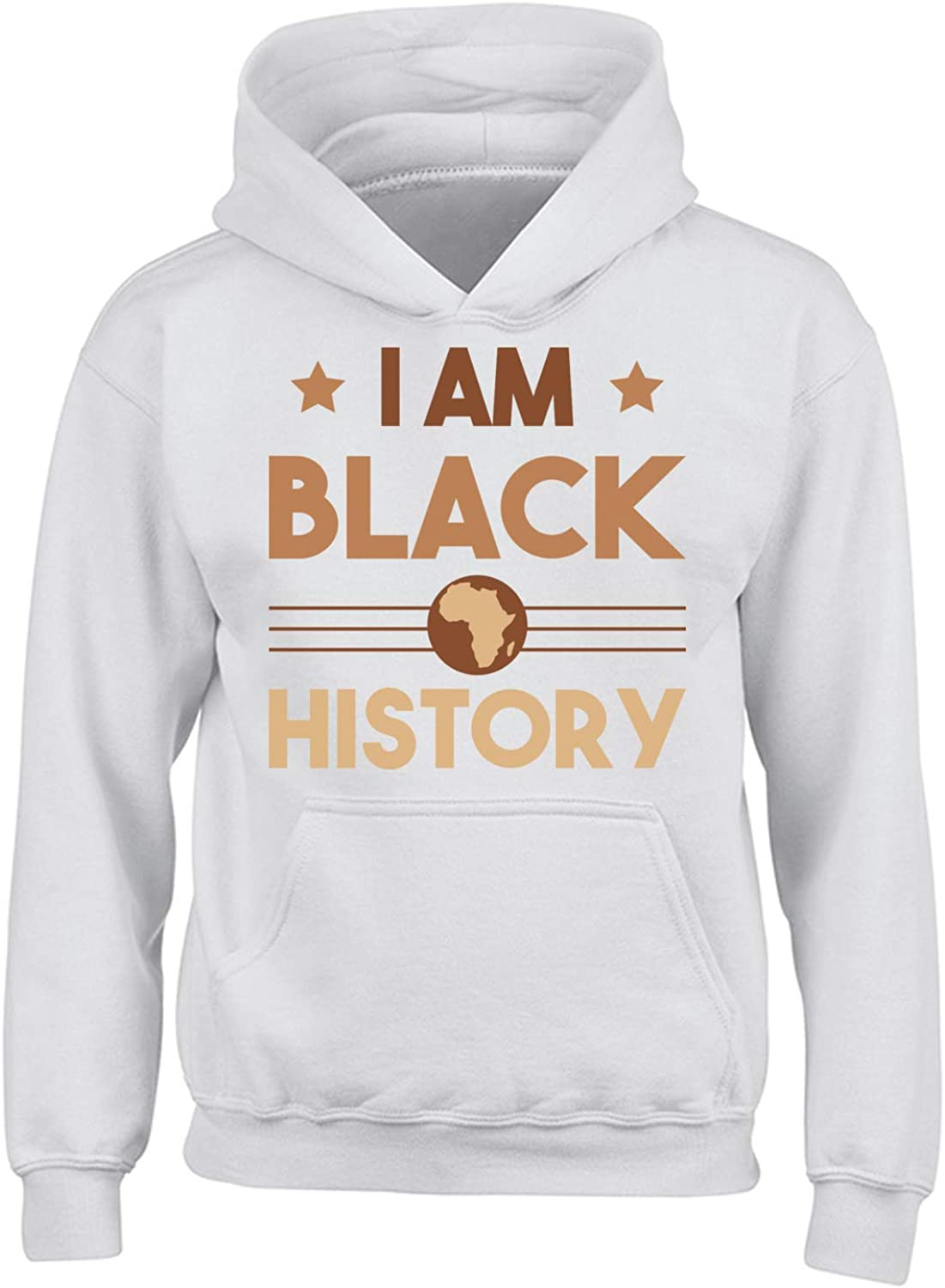 Black Lives Matter Clothes for Youth Teens Age 6 to 18 Black History Month Hoodie for Boys Girls