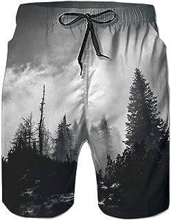 bef6f39565 TUONROAD Mens 3D Printed Funny Swim Trunks Quick Dry Beachwear Sports  Running Swim Board Shorts Mesh