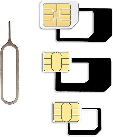 Sim Karten Adapter Schablone.Suchergebnis Auf Amazon De Fur Micro Sim Karte Schablone