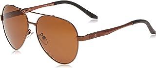 Retro Mens Sunglasses Oval 201977 M.Brown/Black, 60