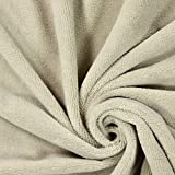 Fabulous Fabrics Frottee Bambou 2 hellgrau — Meterware ab