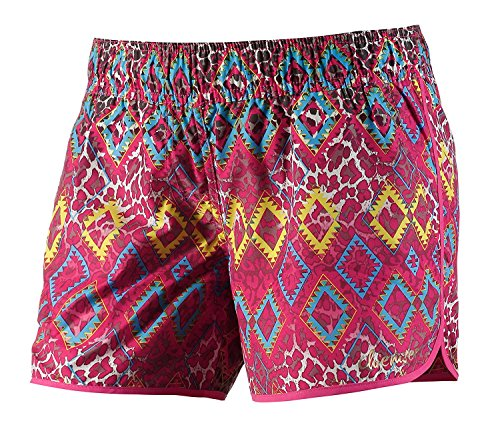 Chiemsee Damen Boardshorts Badeshorts Badehose Strandhose Crissi (Rot, XL)