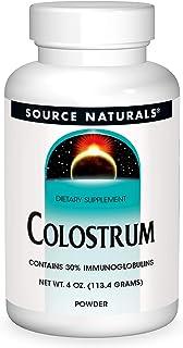Source Naturals Colostrum Contains 30 Percent Immunoglobulins - 4 oz POWDER