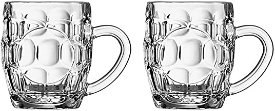 Arcoroc Britannia Set of 2 British Glass Beer Mug 10oz / 0.5 pint - 0293614