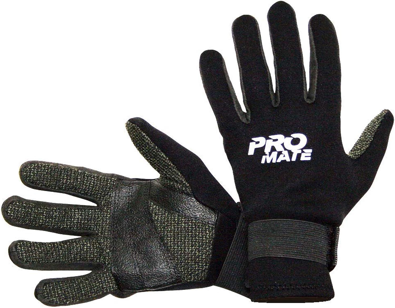 Promate 1,5mm Kevlar Amara Palm Warm Tauchen Schnorcheln Handschuhe