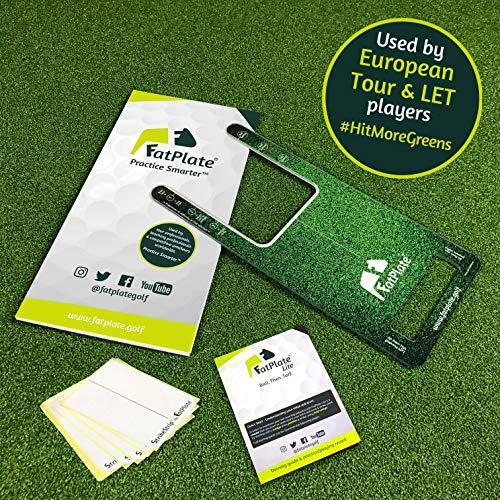 FatPlate Golf-Trainingshilfe Verbessern Sie Ihren Schlag, treffen Sie mehr Grün