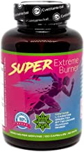 Super Extreme Burner 100 Capsules x 1000 mg 50 Days Supply L-carnitine Green Tea Ginger Root Bitter Orange Natural Weight Loss Support Metabolism by Cvetita Herbal