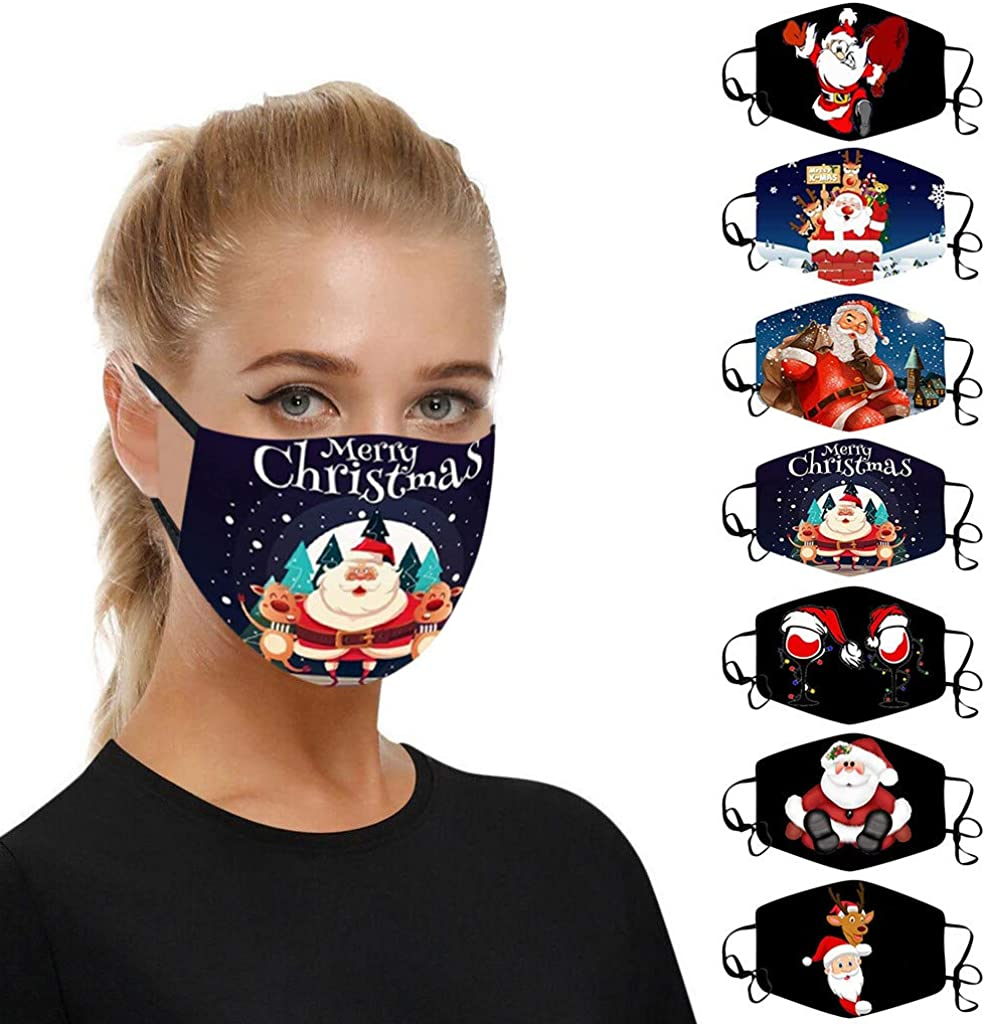 5 Pcs Christmas Challenge the lowest price of Japan Protective_Mask for Adults Face Bandana Brand Cheap Sale Venue Reusable