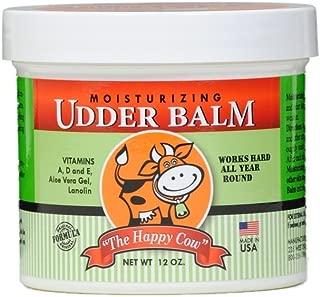 The Happy Cow Moisturizing Udder Balm - 12 ounce jar