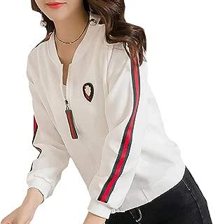 EnergyWomen Fit Zip Pocketed Splice Long-Sleeve Stand Collar Outwear Jacket