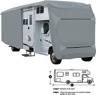 SavvyCraft Class C RV Motorhome Camper Cover Fits 30' 31' 32'L Zipper Access