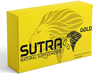 SUTRA Gold - (10 Capsule) Ginseng Complex Herbal Supplement