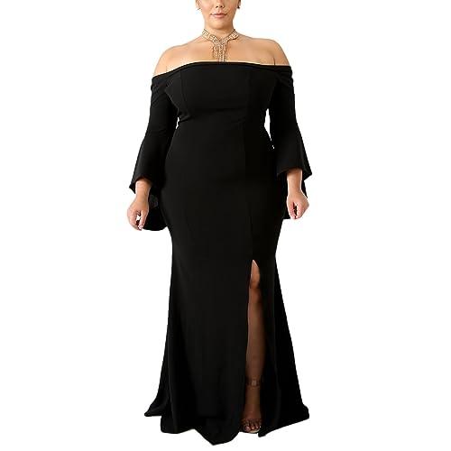078145dff42 GOSOPIN Women Elegant Sexy Fishtail Bodycon Party Dress