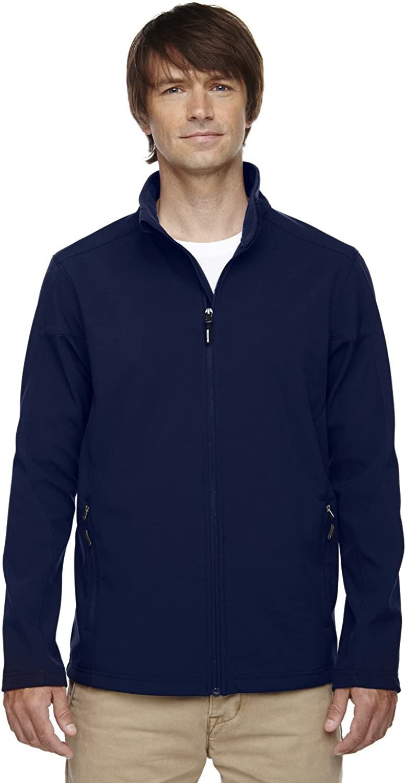 Ash City Core 365 Men's Cruise 2-Layer Fleece Soft Shell Jacket
