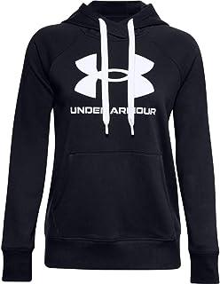 Under Armour womens Rival Fleece Logo Hoodie Casual