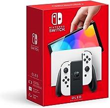 Nintendo Switch (OLED model) - White Joy Con