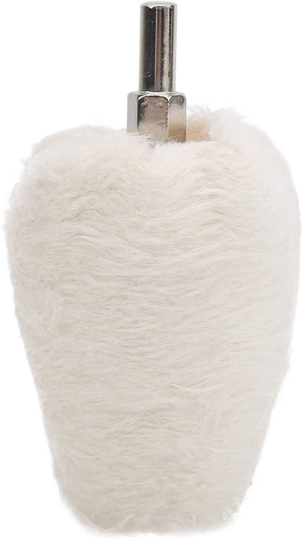 White New Orleans Mall Cloth Product Polishing Wheel Shape Electri Cone