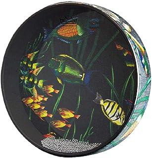 """Remo Ocean Drum, Fish Heads 2.5"""" x 16"""""""