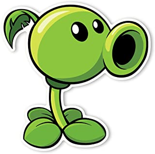 Plants vs. Zombies 2 Wall Decal: Peashooter (12 in x 12 in)
