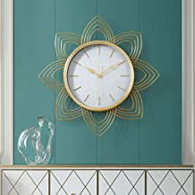 Wall Clock - Metal/Glass/Personality/Home/Clock, Retro Fashion Wall Clock Living Room Bedroom Creative Mute Clock Wall Clo...