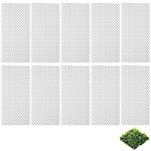 yeemeen 10PCS Grillage en Acier Inoxydable, Grillage Maille Fine, Maille Filet de Maille en Fil d'acier Inoxydable Tampon pour Fish Tank Mousse Plante Aquatique Aquarium Décoration (10x20cm)