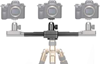 Neewer Portable Mini Camera Video Slider Rail, 9-inch Extendable to 15-inch 2-Way Retractable Damping Dolly Track Rail Slider for Small Camera, Micro-SLR Camera and Smartphones, Max. Load 6.6 pounds
