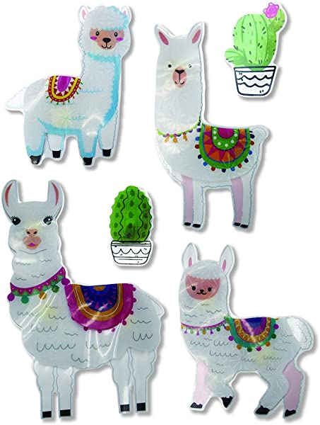 Pop Up Wall Decals Decor For Children S Room Llamas