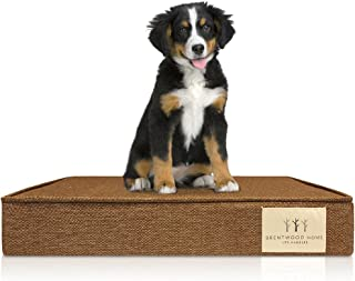 Brentwood Home 4-Inch Gel Memory Foam Orthopedic Pet Bed, 100% Made in USA, Waterproof, CertiPUR-US