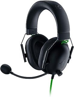 Razer BlackShark V2 X ゲーミングヘッドセット 3.5mmアナログ 7.1ch サラウンド 特許技術採用50mmドライバ 単一指向性マイク ノイズキャンセリング 高遮音性イヤーカップ 軽量240g PC PS4 Xbox N...
