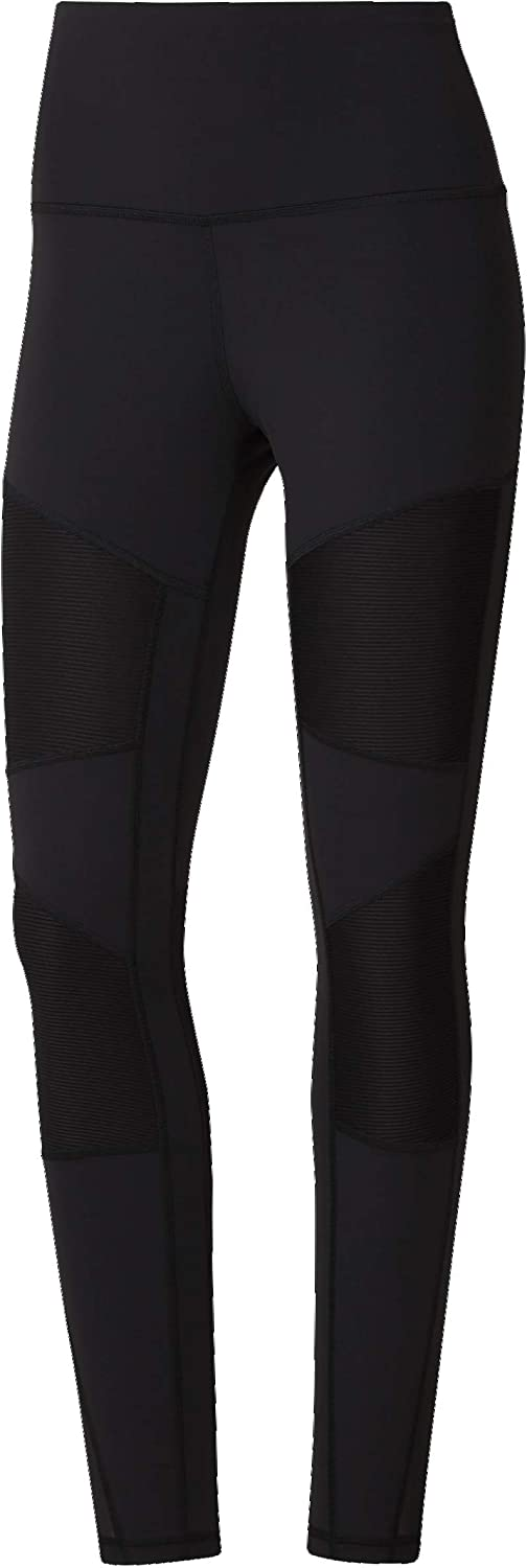 Yogur Tomar medicina Tendencia  Amazon.com: Reebok Women's Lux Workout Tights: Clothing