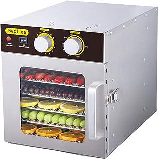 Carl Artbay un déshydrateur Séchoir pour Aliments, Corps en Acier Inoxydable 304 température réglable de 30 à 90 ° C Sécho...