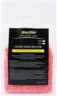 BlueZoo Depilatory Hard Wax Beans - 500 gms Bag - Strawberry