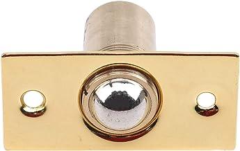FWQW 1 stks Hardware Lente Deur Touch Bead-Press Type Onzichtbare Hotel Lock Hardware Accessoires