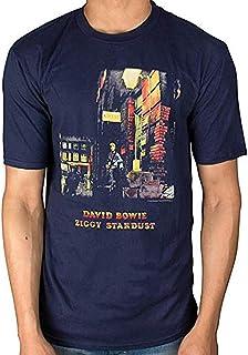 DAVID BOWIE デヴィッド・ボウイ (Space Oddity発売50周年記念) - Ziggy Stardust/Tシャツ/メンズ 【公式/オフィシャル】