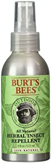 Burt's Bees All Natural Outdoor Herbal Insect Repellent 4 oz (Pack of 3)
