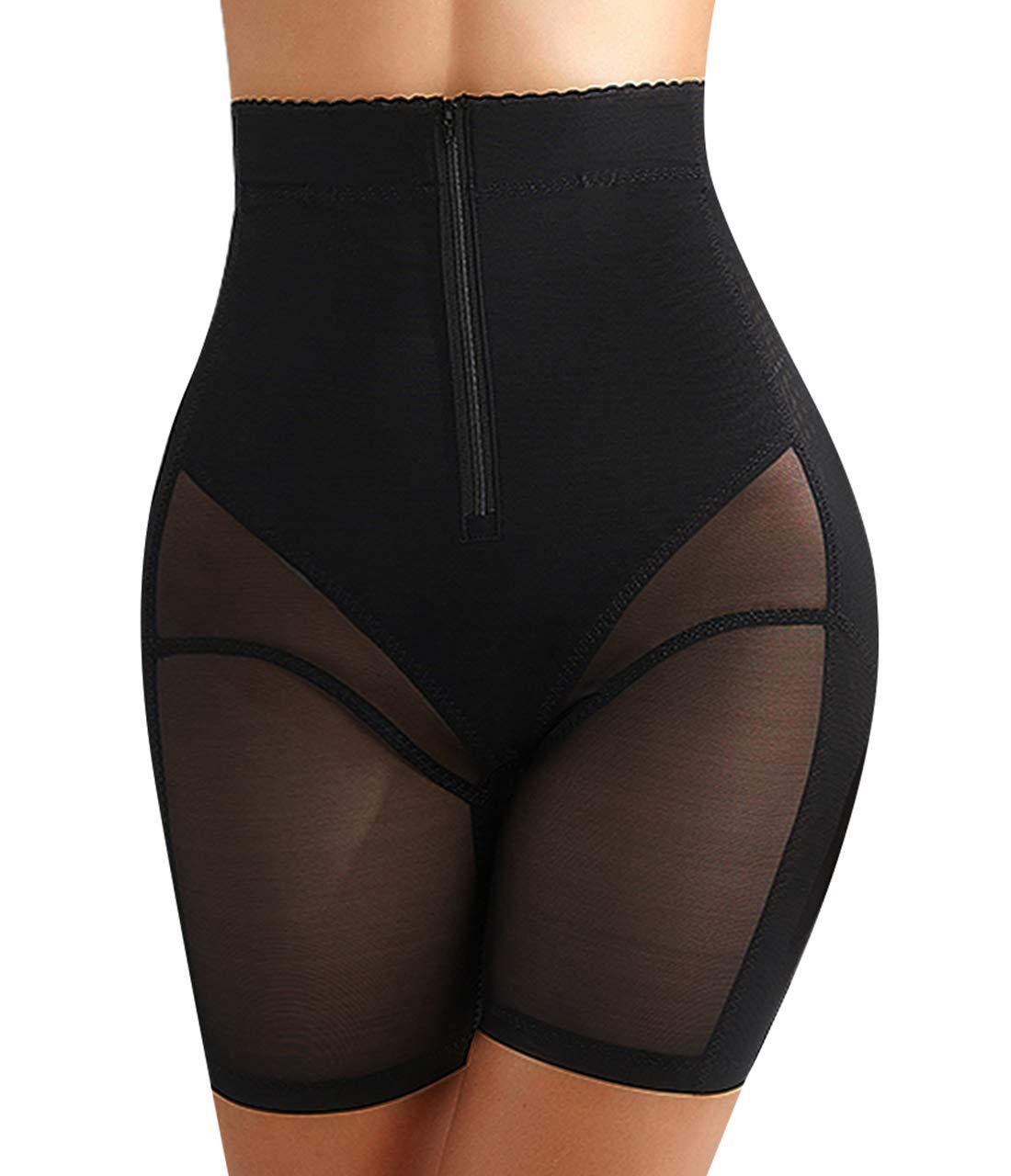 Womens Shapewear Tummy Control Panties Body Shaper High Waist Butt Lifter Short Thigh Slimmers