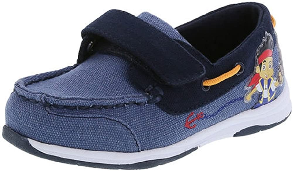 Disney Boy's Jake and The Neverland Boat Shoes