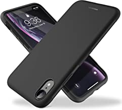 "UNBREAKcable iPhone XR Case - [Drop Protection] Soft Matte TPU Ultra Thin Stylish Phone Case Cover for 6.1"" iPhone XR - Matt Black"