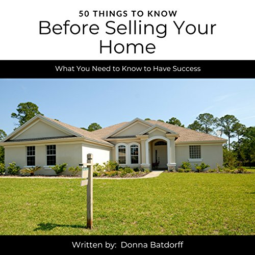50 Things to Know Before Selling Your Home audiobook cover art