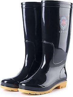 Valink Botas de lluvia unisex para adultos, totalmente impermeables para zapatos de lodo de lluvia y trabajo de jardinería...
