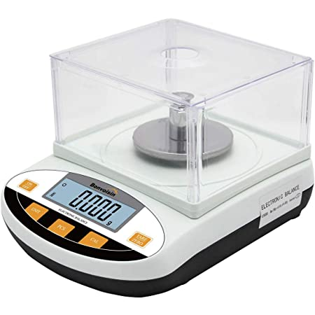 CGOLDENWALL Digital Analytical Balance High Precision Scale Digital Electronic Balance Scale for Laboratory Pharmacy 100g 1mg