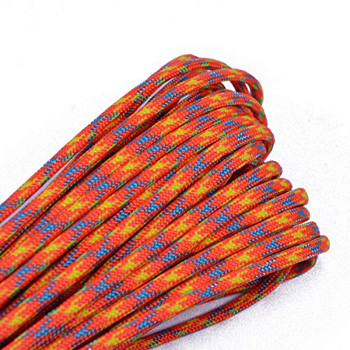 Best Deals! Bored Paracord - 10', 25', 50', 100' & 250', 1000' Spools of Parachute 550 Cord Type III...