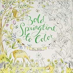 Bold Springtime To Color By Eleri Fowler