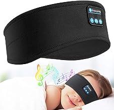 Sleep Headphones Bluetooth Headband - Upgrade Soft Noise-Canceling Headphones for Sleeping, Sports Headbands with Ultra-Th...
